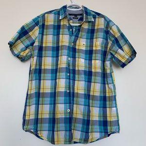 Tommy Hilfiger Men Plain Everyday Casual Shirt